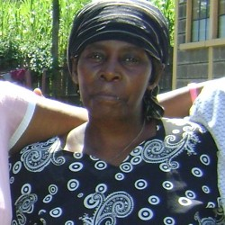 Teresia Muthoni - Cook Section 58